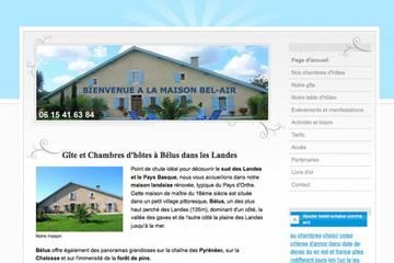 Chambres d'hôtes Maison Bel Air à Bélus (Alain et Françoise Parant)