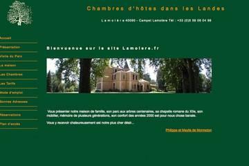 Chambres d'hôtes dans les Landes à Campet-Lamolère (Philippe et Maylis de Monredon)