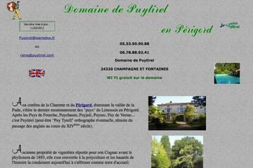 Chambres d'hôtes Domaine de Puytirel à Champagne-et-Fontaine (Reine Soumagnac)