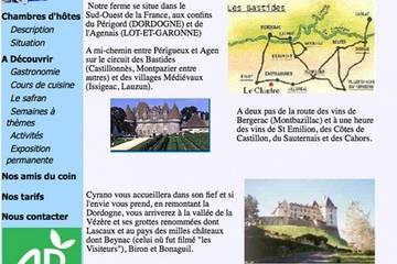 Chambres d'hôtes Le Chintre à Lalandusse (Famille Francis-André)