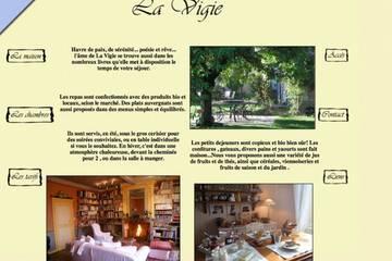 Gîte de La Vigie à Chedeleuf (Véronique et Denis Pineau)