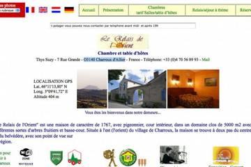 Chambre d'hôtes Relais de l'Orient à Charroux (Susette et Albert Thys)