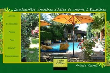 Chambres d'hôtes La Chaumière à Baudrières (Arlette Vachet)