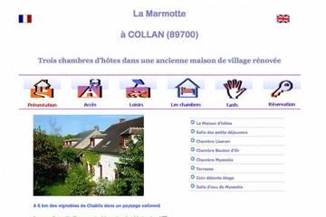 Chambres d'hôtes La Marmotte à Collan (Élisabeth et Gilles Lecolle)