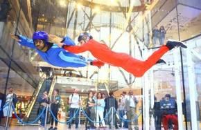 Simulateur de chute libre en soufflerie Indoor à Paris Est