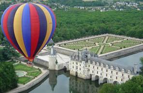 Vol en Montgolfière au Château de Chenonceau et dans l'Indre et Loire