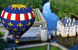 Vol en Montgolfière et dégustation en Touraine et Vallée de la Loire près de Tours et Blois