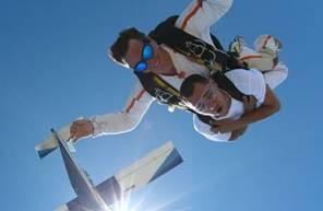 Saut en Parachute Tandem à Millau près de Montpellier