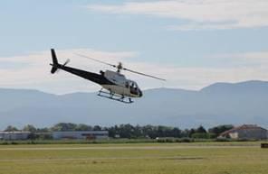 Vol en Hélicoptère à Valence - Baptême au dessus du Massif du Vercors