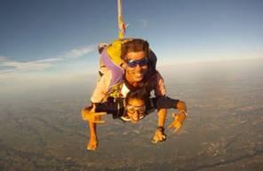 Saut en Parachute Tandem près de Pau