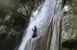 Canyoning dans le canyon du Furon - massif du Vercors