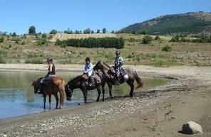Promenade à cheval près de  Gap