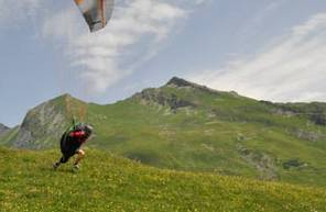 Stage d'initiation en parapente aux Arcs