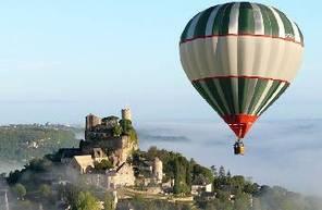Vol en Montgolfière à Turenne en Corrèze