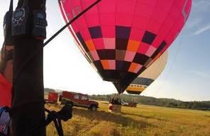Vol en montgolfière - Baptême au dessus d'Albi et du Tarn