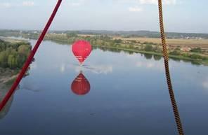 Vol privé en Montgolfière en Indre-et-Loire - Survol des Etangs de Brenne