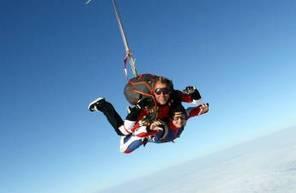Saut en Parachute Tandem près de Metz