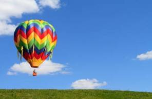 Vol privé en montgolfière en Loir-et-Cher - Survol du Domaine de Cheverny