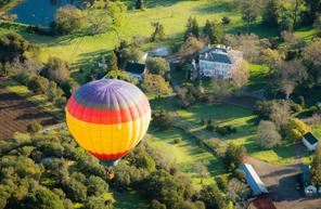 Vol privatif en montgolfière en Loir-et-Cher - Survol du Domaine de Cheverny