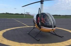 Vol d'initiation au pilotage d'hélicoptère à Montpellier