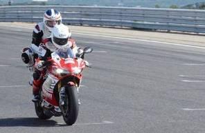 Baptême de Moto Ducati 1299S - Circuit de Lédenon