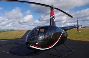 Baptême de l'air en hélicoptère à Cholet