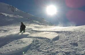 Cours particulier de snowboard à l'alpe d'huez Grand Massif