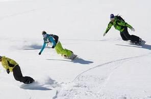 Cours collectif snowboard à l'alpe d'huez Grand Massif