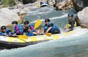 Rafting à Barcelonnette