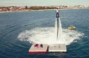 Initiation au Flyboard et Seabob près de Cannes
