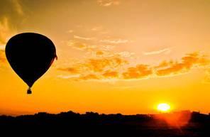 Vol en montgolfière près de Saint Etienne - Survol de Montrond Les Bains dans la Loire