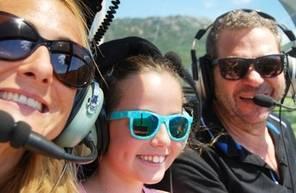 Baptême en hélicoptère - Vol à deux au dessus des Gorges de l'Hérault