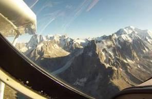Baptême en ULM au-dessus du massif du Mont-Blanc