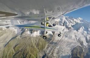 Initiation au pilotage d'un ULM Multiaxes au-dessus des Alpes