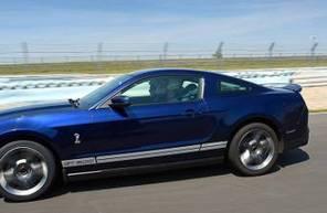 Pilotage d'une Mustang Shelby GT500 - Circuit de Chambley