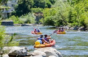 Location de canoe au lac du bourget