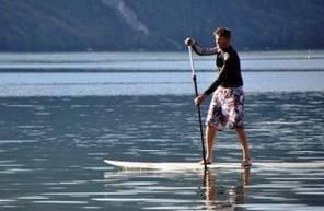 Location de Paddle à Aix-les-Bains sur le lac du Bourget