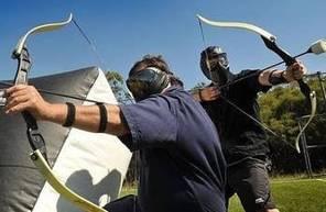 Archery game à Nîmes