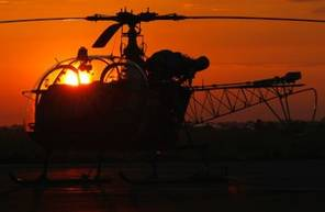 Vol en hélicoptère près de Port Barcarès