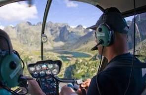 Vol d'initiation au pilotage d'hélicoptère à Grenoble