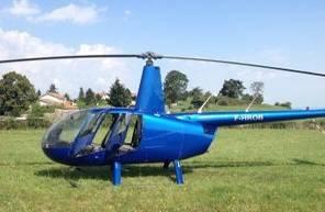 Baptême en Hélicoptère dans l'Aude - Vol en hélicoptère à Carcassonne