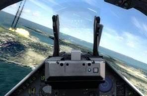 Simulateur d'avion de chasse à Clermont-Ferrand