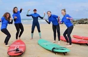 Cours de Surf à Capbreton
