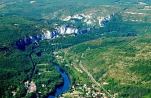 Vol en avion à la découverte du Patrimoine de l'Occitanie