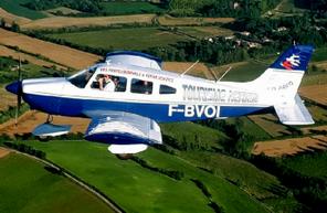 Vol en avion à Cahors à la découverte du Lot