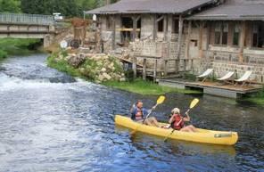 Ballade en Kayak près de Saint Quentin