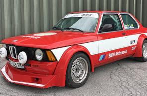Stage de pilotage rallye VHC sur BMW E21 près d'Avignon