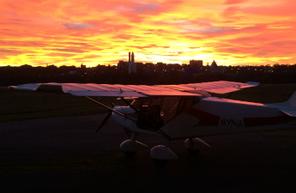 Baptême de l'air en avion léger type ULM Multiaxes à Toulouse