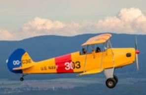 Baptême de l'air en Avion léger Biplan ou ailes basses à Epinal