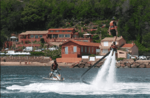 Initiation au Flyboard à Théoule-sur-Mer sur la côte d'azur